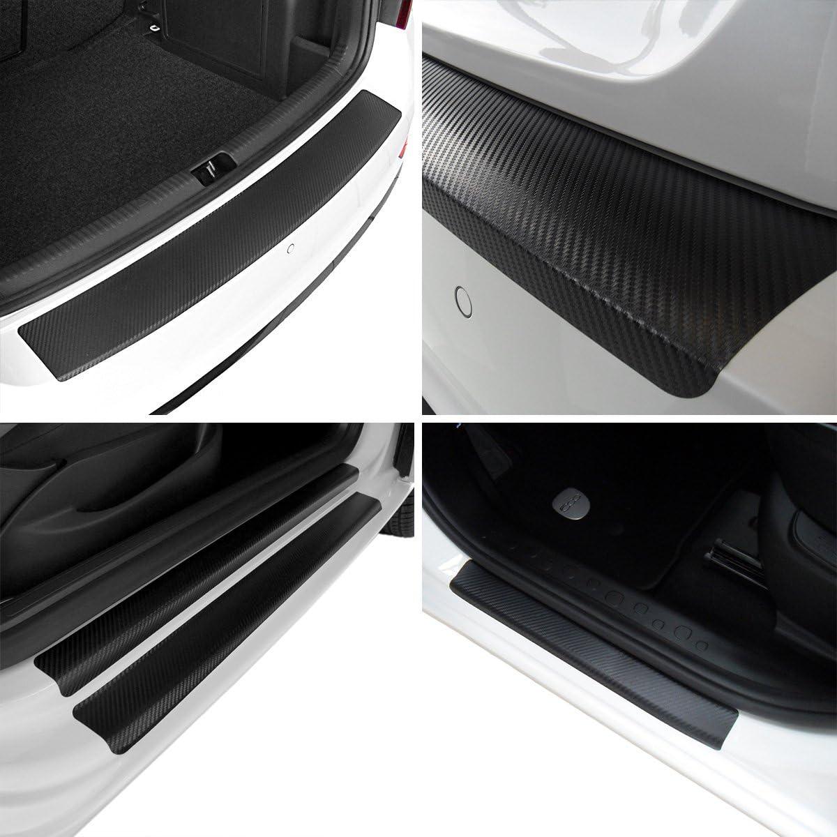 Tuneon Carbon Folienset Für Ladekanten Einstiegsleisten Für Citigo 3 Türer Auto