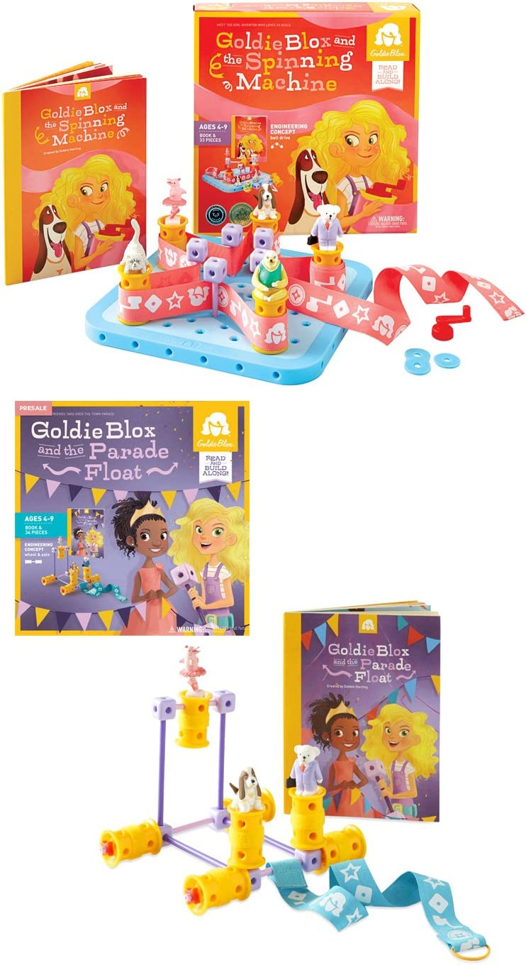 Goldie Blox and The Spinning Machine by Goldie Blox [Toy] by ...