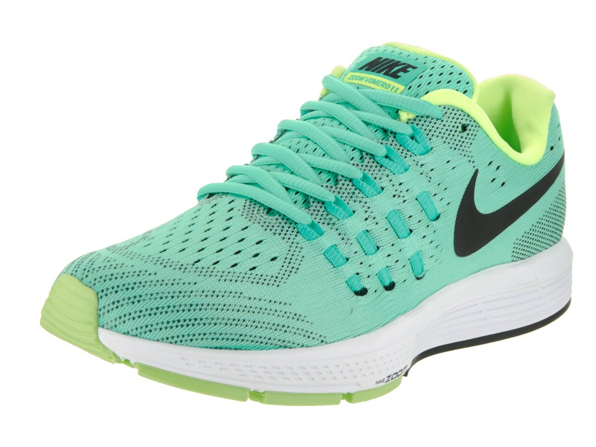 newest b0ef9 1fa3f Galleon - Nike Womens Air Zoom Vomero 11 Green Glow Black Menta White  Running Shoe 8 Women US
