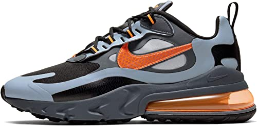 Nike Air Max 270 React WTR Sneakers Grigio Nero Arancio CD2049 006