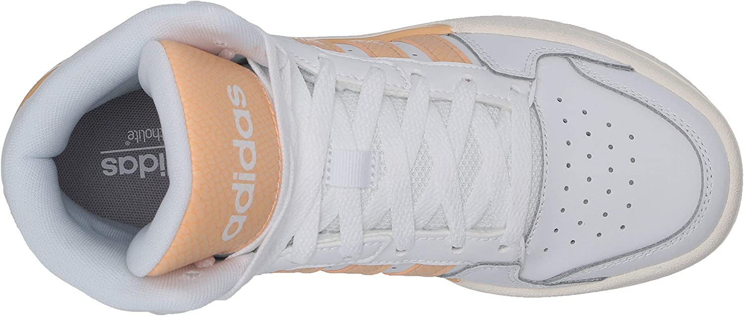 adidas Damen Entrap Mid Shoes Turnschuh, weiß Ftwr White Glow Orange Cloud Weiß
