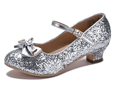performance sportswear best supplier sneakers for cheap Amazon.com | DS New Girls Rose Gold Silver Metallic Glitter ...