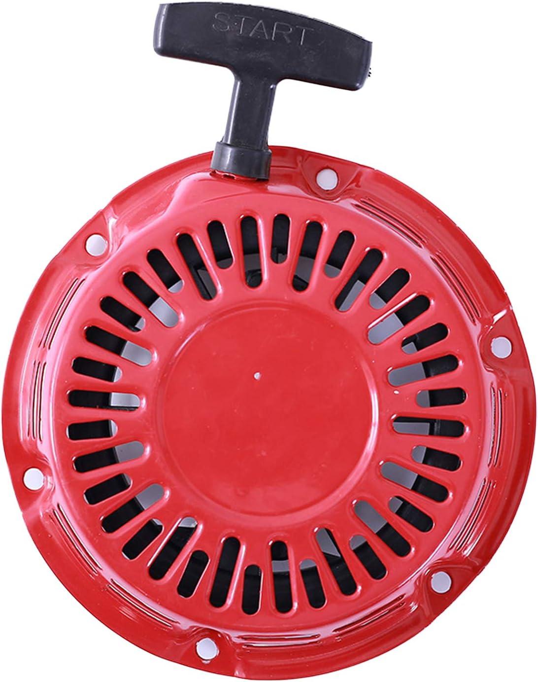 Arrancador de retroceso con tracción universal Compatible con Honda GX160 GX200 Motor Motor Generador Propel Cortacésped Bomba de agua Compresor