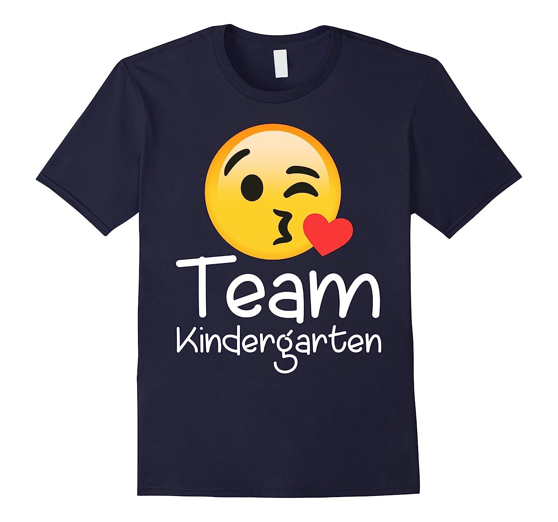 Team KINDERGARTEN TSHIRT Teacher EMOJI HEARTS LOVE-T-Shirt