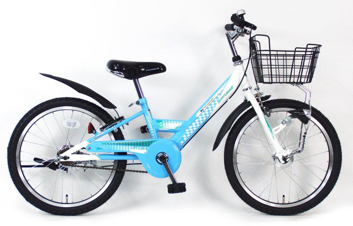 C.Dream(シードリーム) リューガシングルオートライト RG01-H 20インチ 子供自転車 ブルー 100%組立済み発送 B078YPW22V