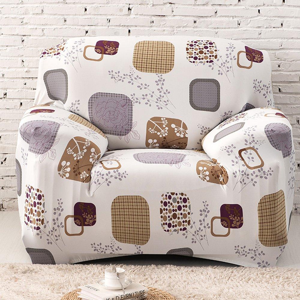 Amazoncom yazi Graphic Washable Elastic Sofa Cover 123 Seater