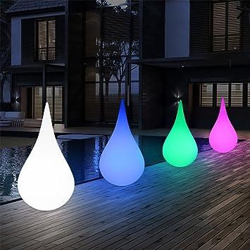 ZLMI Luz LED para Exteriores, Suelo De Jardín Luz De Jardín USB Carga Solar Lámpara De Césped Decorativa con Control Remoto Inteligente: Amazon.es: Deportes y aire libre