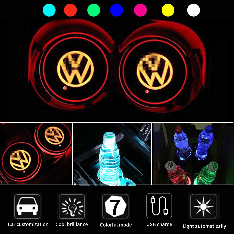 CDBGR LED car door light projector Entry lighting Logo door courtesy lamps Shadow Light For Vw