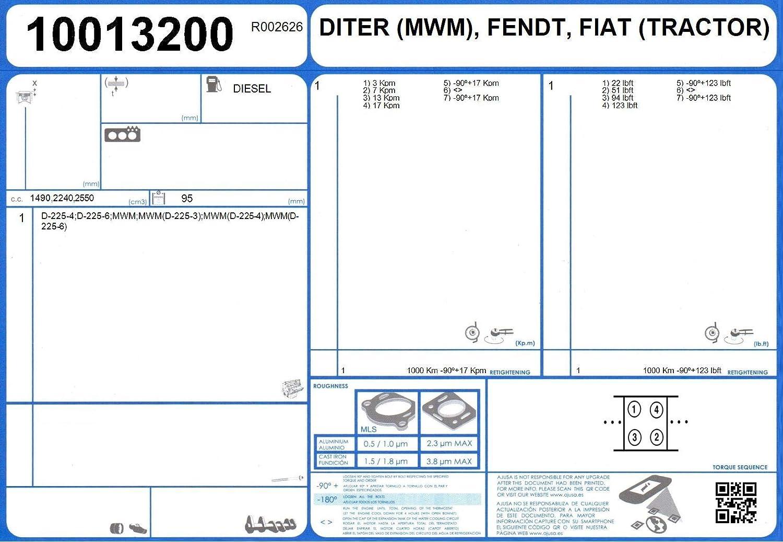 AJUSA 50016600 Jeu complet de joints d/étanch/éit/é moteur