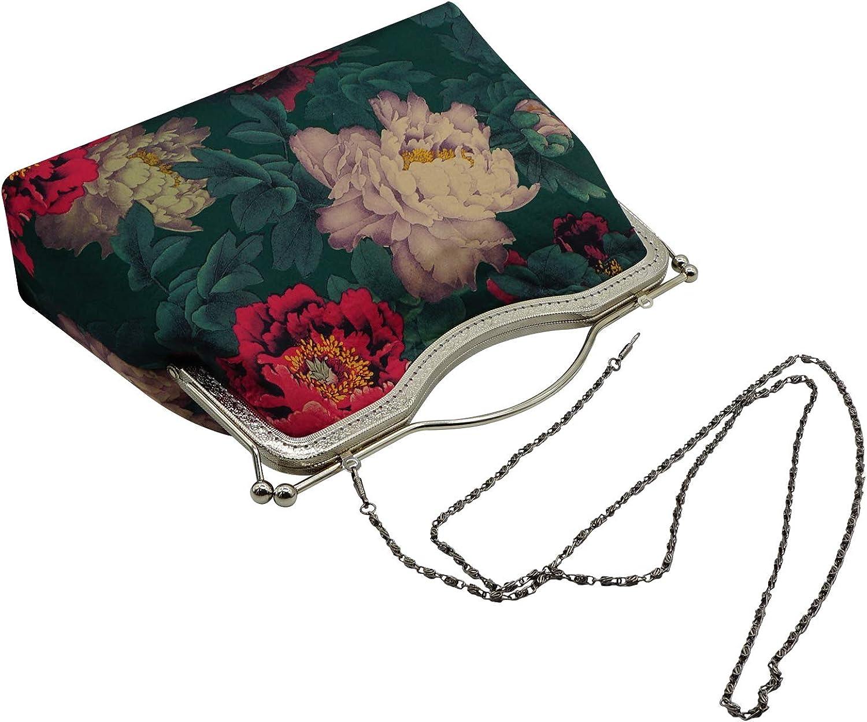 Amyannie Party Clutch Bag Womens Clothing Clutch Bag Flower Pearl Evening Bag Handbag Wedding Clutch Purse Party Bridal Prom Bag Chain Messenger Bag (5 Colors Sparkling Evening Bag Color : Gold