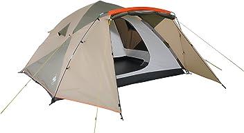 Lumaland Outdoor Pop Up Familienzelt Wurfzelt 6 Personen Zelt Camping Festival 315 x 245 x 170 cm verschiedene Farben