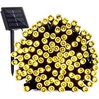 Guirnalda Luces Exterior Solares, BrizLabs 22M 200 LED Cadena de Luz Solar, Resistente Al Agua 8 Modos Luces Solares…