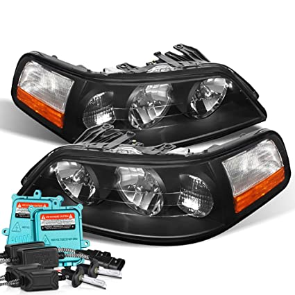 Amazon Com Vipmotoz For 2005 2011 Lincoln Town Car Headlights
