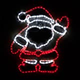 wintergreen lighting outdoor santa decorations santa christmas outdoor lights santa claus yard decorations
