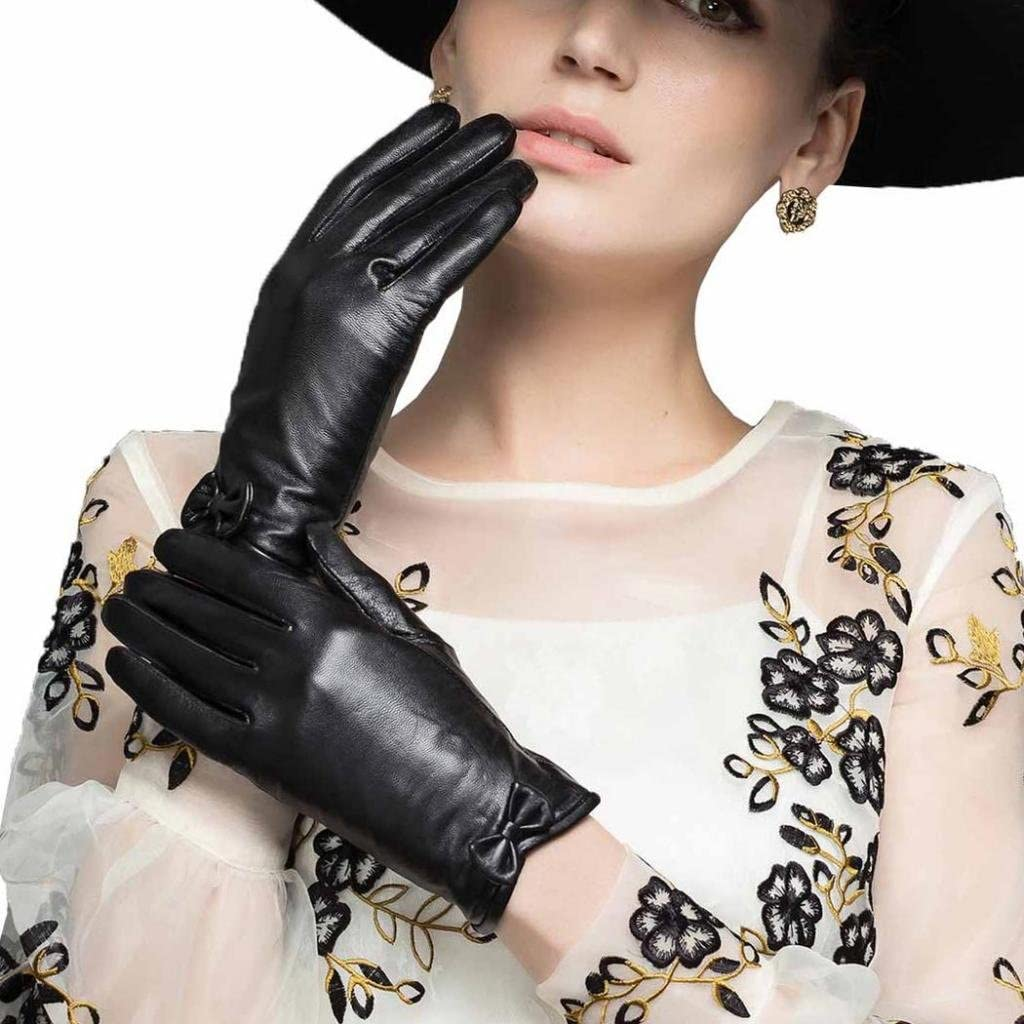 CASF Spasm price Women's Lambskin Leather Driving For Women Gloves Chic With Max 44% OFF
