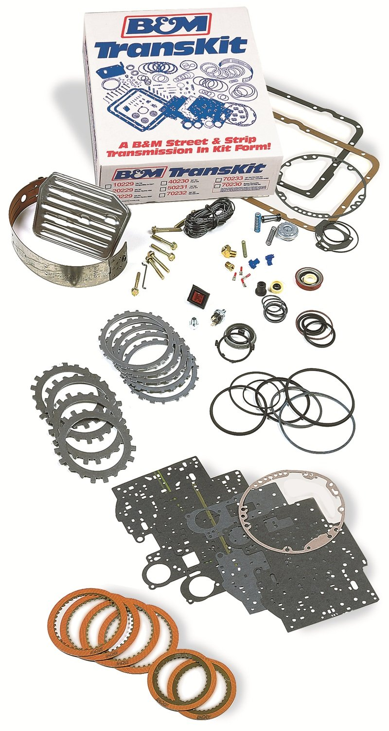 B&M 50231 Transkit Transmission Overhaul Kit