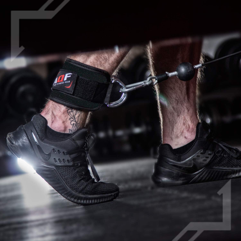 para Mujeres y Hombres exreizst Correas de Tobillo Wrist Ankle Straps para,Ejercicio Interior de piernas 4 pcs Tobilleras Deportivas para Cable M/áquinas