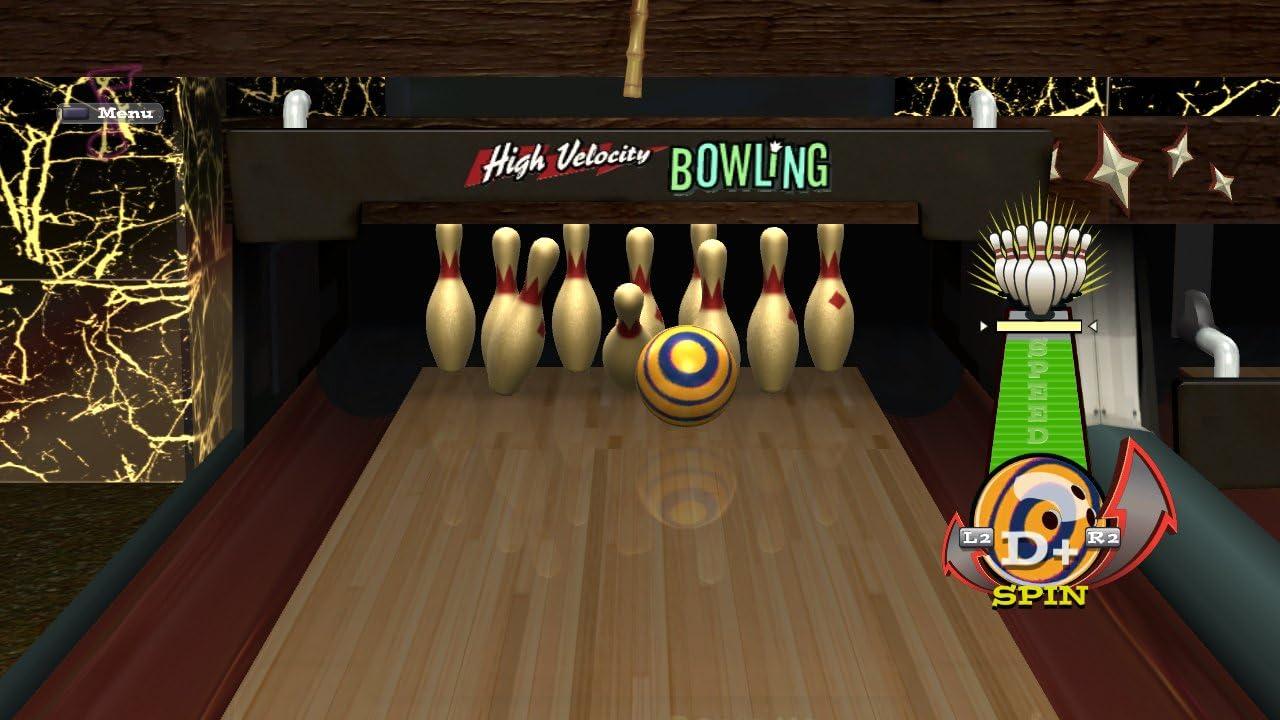 amazon com high velocity bowling motion control playstation 3