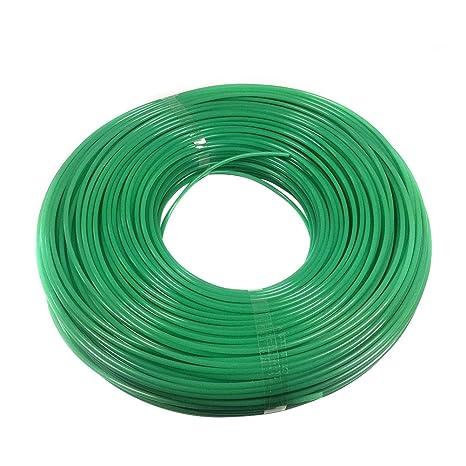 ounona 100 M 2 mm redondo nailon desbrozadora Line (verde ...