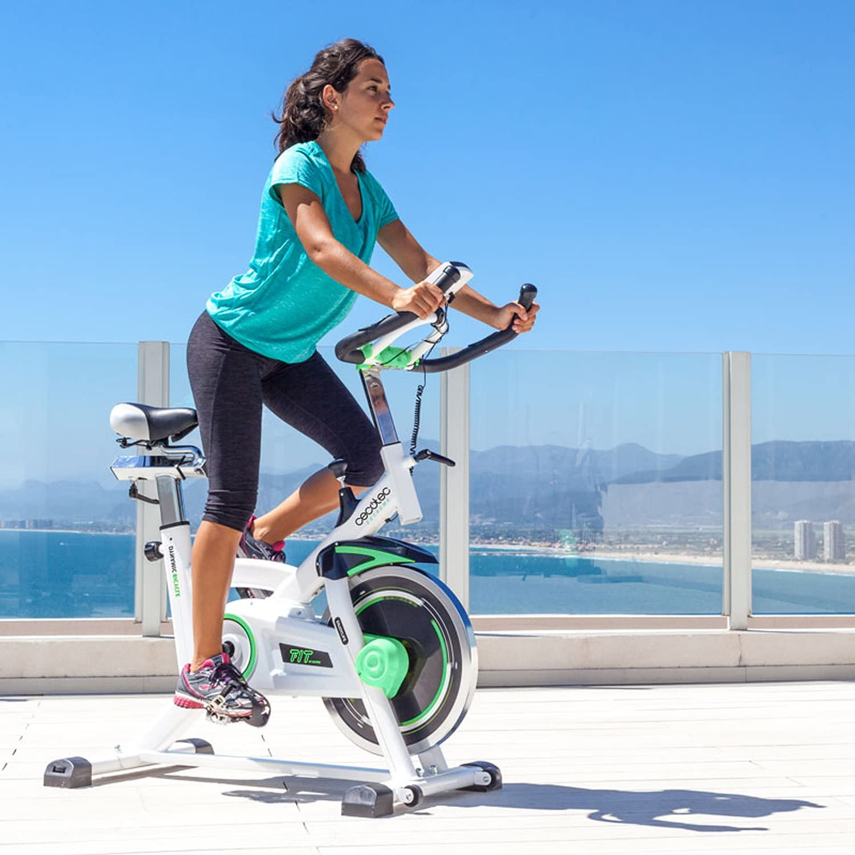 Cecotec Bicicleta Indoor Extreme 25. 25kg Volante inercia, Pulsómetro, Pantalla LCD, Resistencia Variable, Estabilizadores, SilenceFit (Extreme 16): Amazon.es: Deportes y aire libre