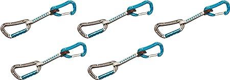 Mammut 5ER Pack Bionic Express Sets Straight Gate/Wire - Cinta, Unisex Adulto, Gris(Gate.B)