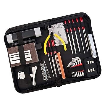 Sharplace 1 Juego Herramientas de Mantenimiento Reparación de Guitarra para Guitarrista: Amazon.es: Instrumentos musicales