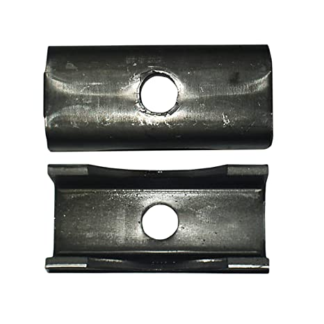 "Pack of 2 Weld On Trailer Raw Steel Axle Spring Perch Seat 3/"" Round Axel 7000 6000 5200# Capacity Series by BII"