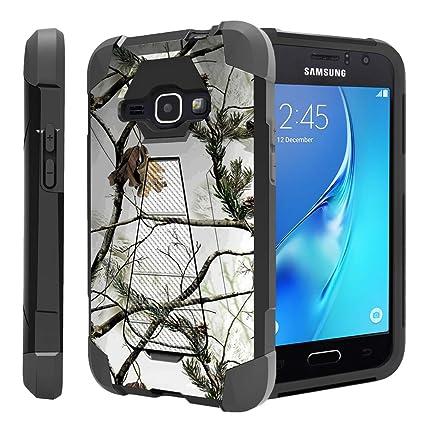 buy popular d9bb1 cb3eb Untouchble Case for Samsung Galaxy J1 (2016) Case, Samsung Luna Case Hard  Case| Amp 2 , Express 3 Case [Traveler Series] Shockproof Hybrid 2 Layer ...