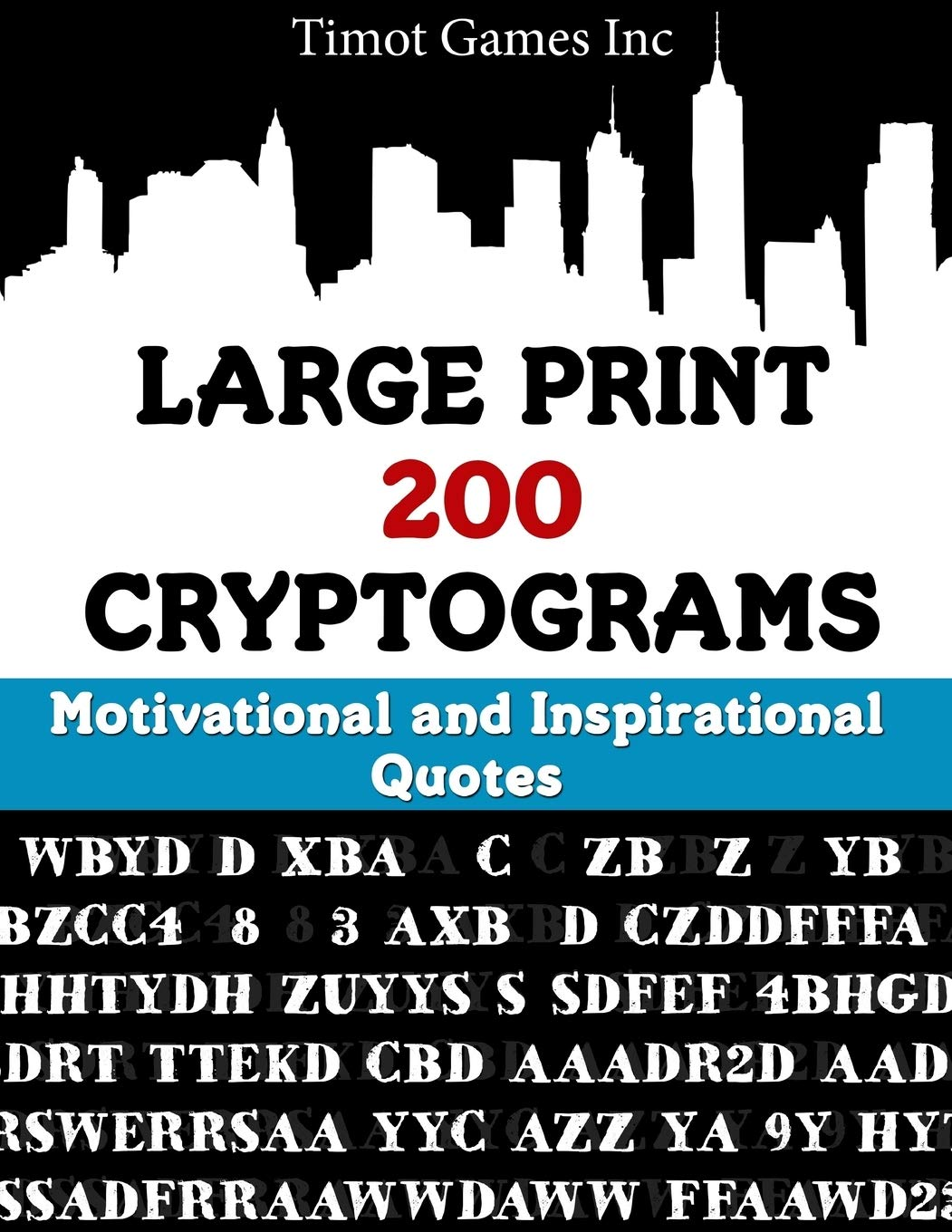 large print cryptograms motivational and inspirational quotes
