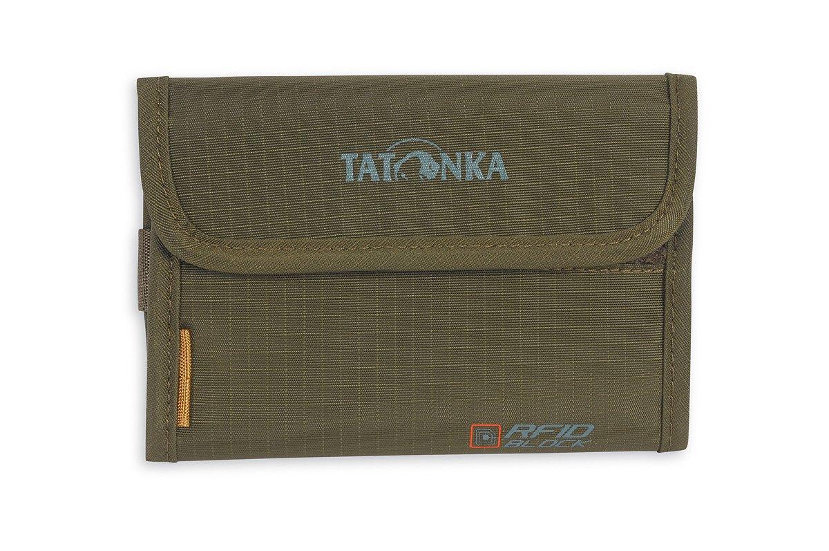 Tatonka - Folder RFID Block - Porte-monnaie taille One Size, vert