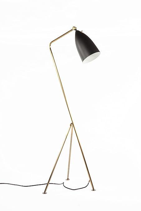 Strålende Stilnovo AMZLBF001BRSBLK The Grasshopper Floor Lamp, 17.5