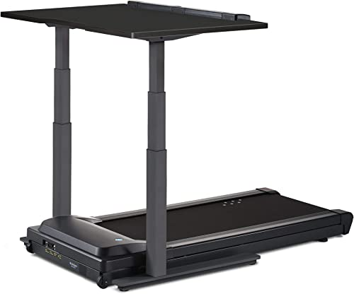 LifeSpan TR1200-DT7 Treadmill Desk 48 Desktop Charcoal Height-Adjustable Frame Perfect