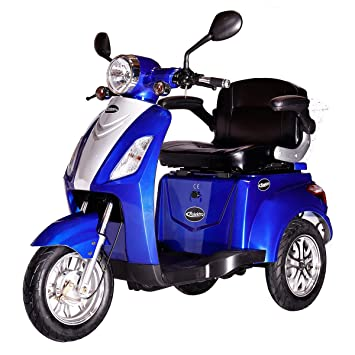 Rolektro 31385 E Trike Elektro Roller Blue Amazonde Auto