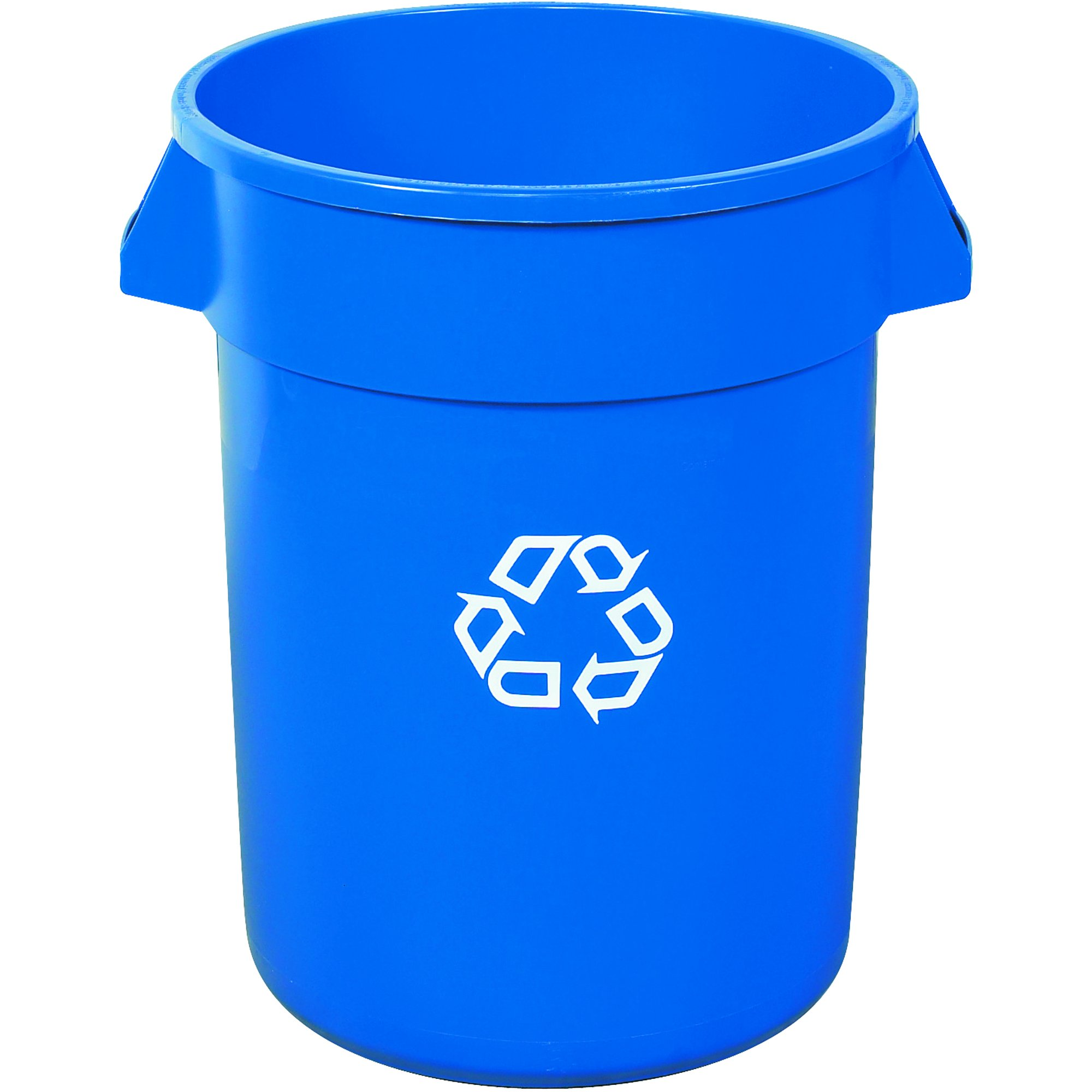 Ship Now Supply SNRUB141 Brute Recycling Container, 32 gal, 22'' width, 27.25'' Height, Blue by Ship Now Supply