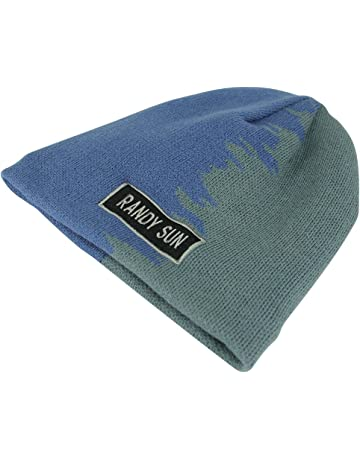 1bfdf3ad43670f RANDY SUN Waterproof Beanie Hat, Unisex Daily Slouchy Knitted Beanie Thick  Soft Warm Winter Hat