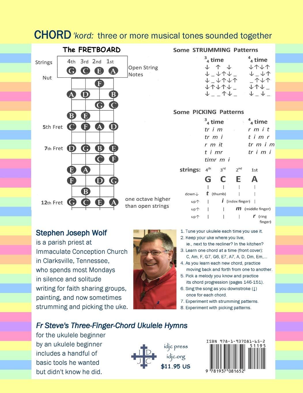 Fr Steve's Three-Finger-Chord Ukulele Hymns: Stephen Joseph