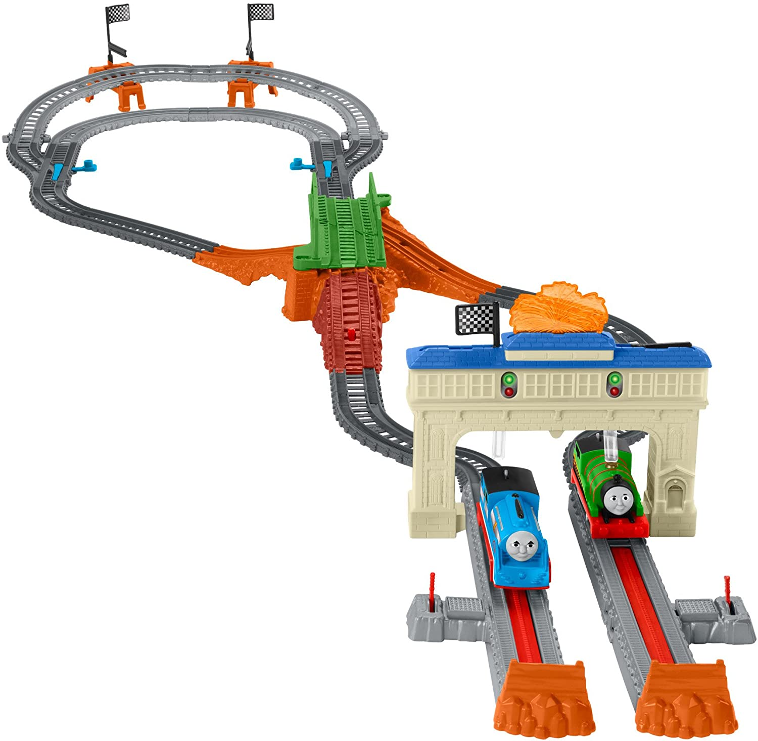 Fisher-Price Thomas & Friends TrackMaster Motorized Race Railway