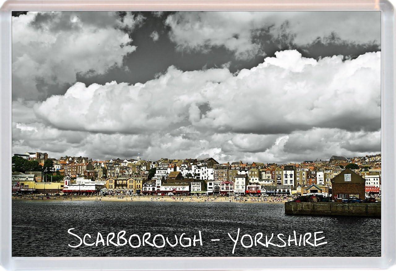 Jumbo Fridge Magnet Gift//Souvenir//Present North Yorkshire Scarborough Scarboro