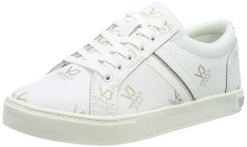 Versace Para Jeans Gimnasia De Mujer Couture ShoesZapatillas 3j4L5AR