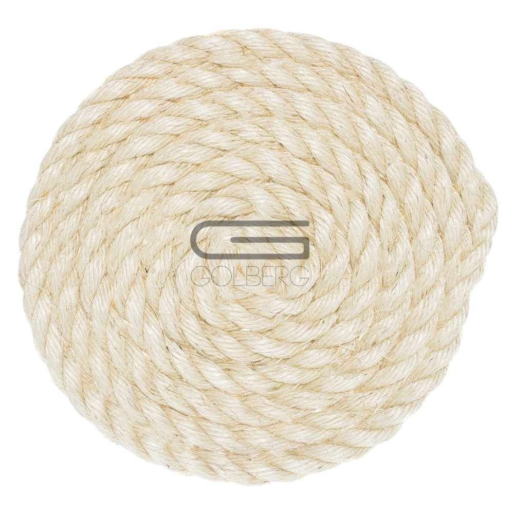 1//2 3//8 and 1-inch Diameters in Various Lengths GOLBERG G 5//16 3//4 Golberg Twisted Sisal Rope Available in 1//4