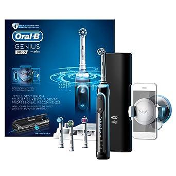 Oral B ob255 Genius 9000 para cepillo de dientes eléctrico, color negro