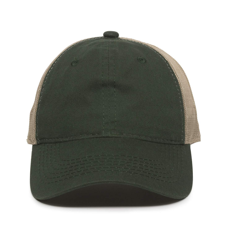 Outdoor Cap Garment Washed Meshback Cap