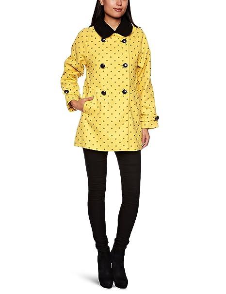 Yumi Chaqueta para mujer, color mostaza, talla 8: Amazon.es ...