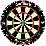 Winmau Blade 5 Dual Core Bristle Dartboard with Increased Scoring Area and Improved Dart Deflection for Reduced Bounce…