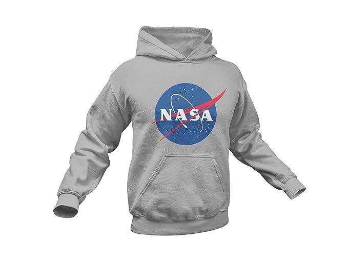 Amazon.com: Sudadera con capucha con logotipo de la NASA ...