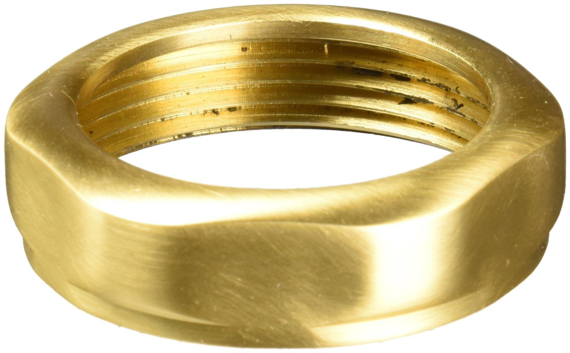 Jaclo 757-SB Solid Brass Slip Nut, 1-1/2'', Satin Brass by Jaclo