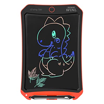 """JRD&BS WINL Colorful LCD Electronic Writing Tablet Toys for 4-9Year Old Boys, Teen Boy Girl Birthday Presents Gifts,Boy Gifts 8.5"""" Handwriting Paper Drawing Tablet at Home and Outdoor(Orange): Office Products"""