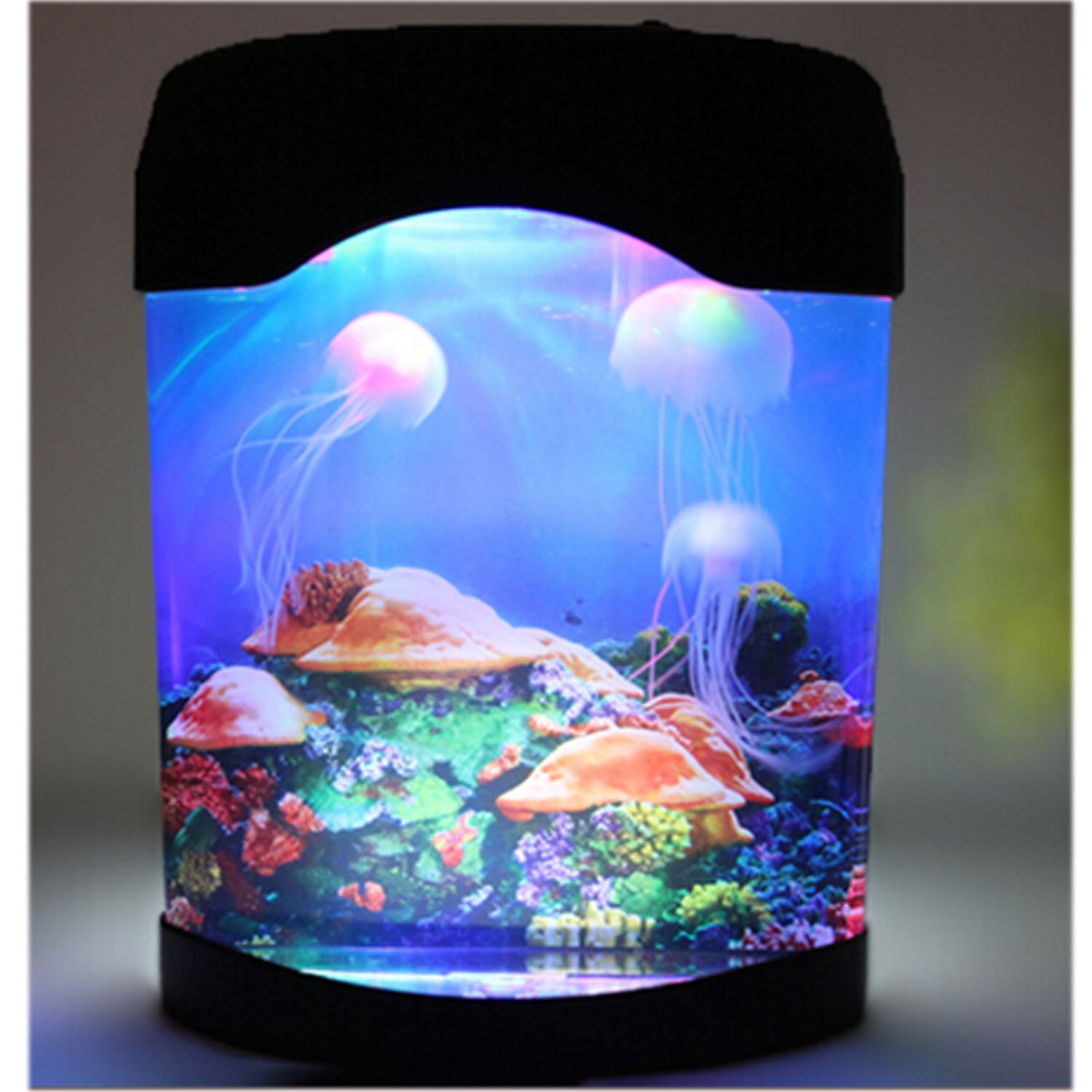 Fish tank night light - Amazon Com Novelty Led Artificial Jellyfish Aquarium Lighting Fish Tank Night Light Lamp Pet Supplies