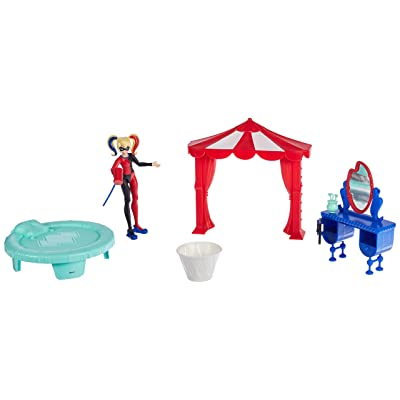 DC Super Hero Girls Harley Quinn Bedroom Set: Toys & Games