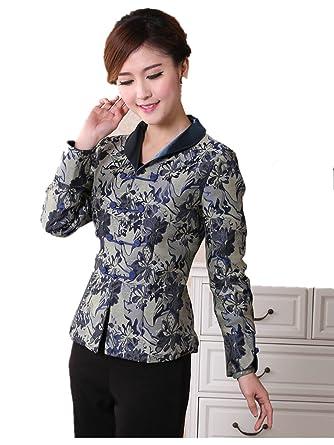 Amazon.com: Para mujer Tang trajes chino chaquetas para ...